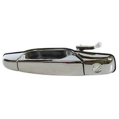 Front Left LH Driver Side Chrome Exterior Door Handle for Cadillac Chevrolet GMC