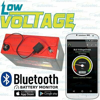 12V Car Caravan Rv Battery Monitor Via Bluetooth Meter Check Tester Agm Sla Cal