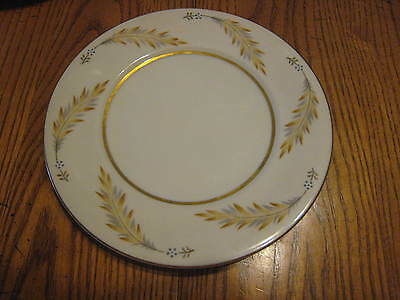 """Vintage Norleans Meito China Courtley Pattern 3 Salad Plates 7 5/8"""" Vgc"""