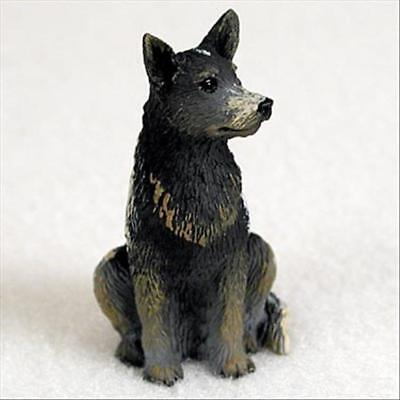 Australian Cattle Dog Blue Dog Tiny One Miniature Small Hand Painted Figurine