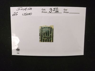 2992 India Stamp Pack #26 Used