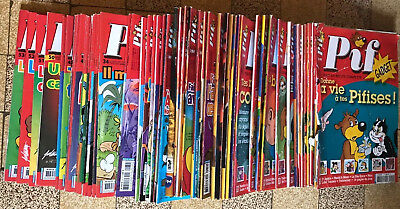 LOT BD COLLECTION ¤ PIF GADGET n°1 à 53 ¤ 2004 ¤ TBE