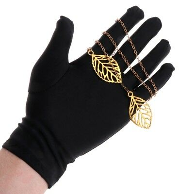 1Pair Jewelry Gloves Black Inspection Soft Blend Cotton Lisle Fr Work Protection