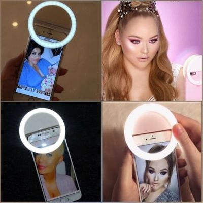 Selfie Light 36 LED Ring✪ Flash Light✪ Clip Camera✪ For iPhone Samsung Htc etc✪