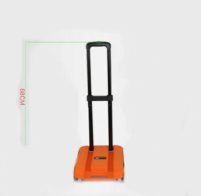 E11 Rugged Aluminium Luggage Trolley Hand Truck Folding Foldable Shopping Cart