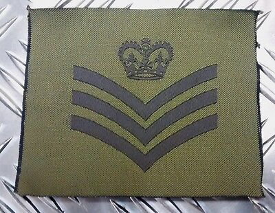 Genuine British Army Green / Desert OD / DS Subdued Assorted Rank Badges x2 NEW