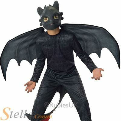 Kids Toothless Night Fury Costume How To Train Your Dragon Fancy Dress Outfit