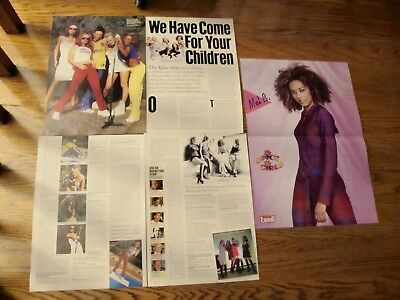 Spice Girls French Us Clippings ,poster Clearance!