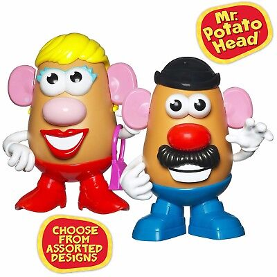 "Playskool 7"" Mr or Mrs Potato Head /w Accessories For Ages 2+ Assorted"