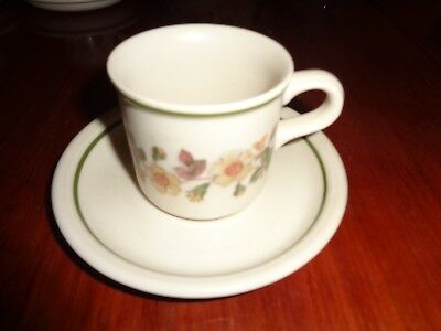 Marks And Spencer Coffee Cup And Saucer AUTUMN LEAVES