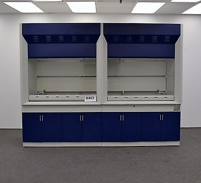 Laboratory Chemical 10' Fume Hood with Epoxy Top Surface H463...
