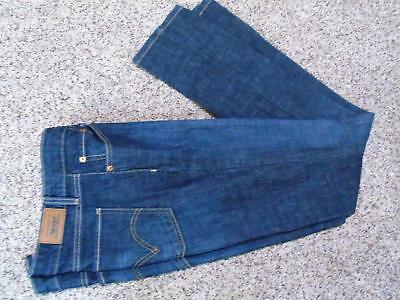 New Levi's Levi 518 Low Rise Skinny Jeans Dark Blue Wash Size 13 Long 34 inseam