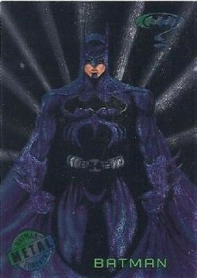 Batman Forever Metal Card  Base / Basic Card      Choose Your Single Card