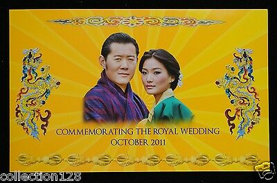 Bhutan Commemorative Banknote 100 Ngultum 2011 UNC, Folder