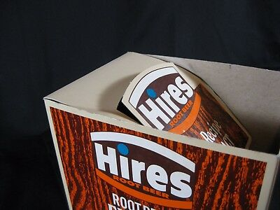 Hires Root Beer Display Box Home Recipe Extract DISPLAY BOX ONLY NO PRODUCT