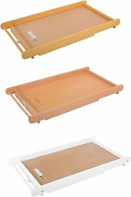 East Coast COT BED TOP CHANGER + TOWEL RAIL Baby Changer Nursery Furniture BN