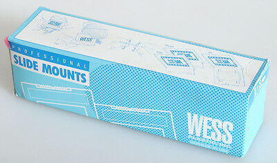 Wess Professional 2X2 Inch Slide Mounts 50 In Box