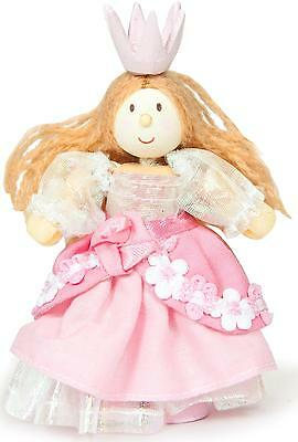 Le Toy Van BUDKINS PRINCESS FRANCESCA Poseable Wooden Figure/Toy Kid Doll BN