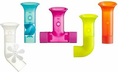 Boon PIPES BUILDING BATH TOY SET Toddler/Child Fun Tub Toy Waterway BN