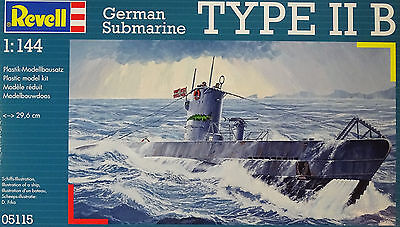 REVELL® 05115 German Submarine Type IIB in 1:144