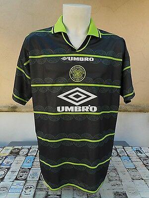 Maglia Calcio Celtic 1998/99 Away Umbro Xl Shirt Trikot Maillot Camiseta Jersey