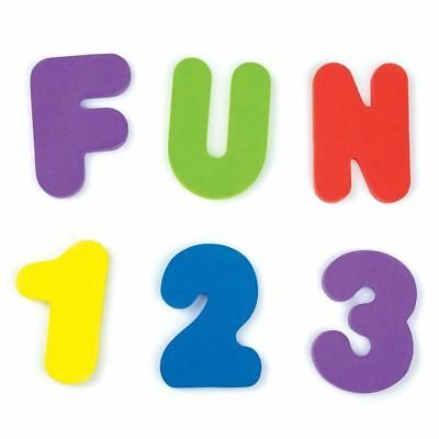 Munchkin 36 BATH LETTERS & NUMBERS Baby/Toddler Bathing Bath Time Toy/Gift BN
