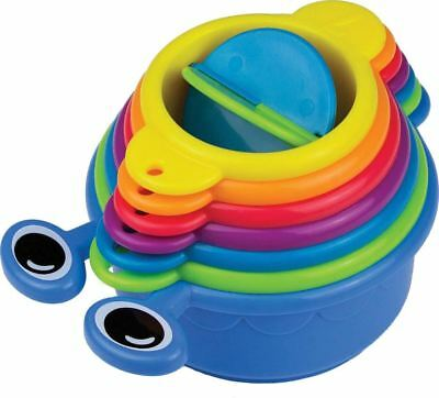 Munchkin 6 CATERPILLAR SPILLERS Baby/Toddler Bath Time Accessory Toy/Gift BN