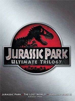 Jurassic Park 1 2 3 Collection (DVD, 2015, 3-Disc Set) NEW
