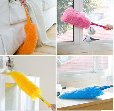 Car/Home Feather Duster Anti Static Dust Brush Soft Microfiber Cleaning Duster G
