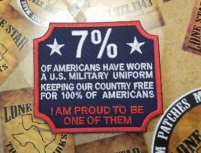 Proud US Military Patch
