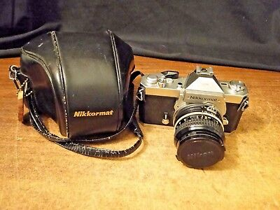 Nikkormat Nikon, with 500mm 1.2 Lens, and Case, For Parts or Repair