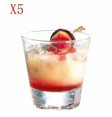 New 5X Capacity 255ML Height 90MM Transparent Whisky Glass/Glassware %
