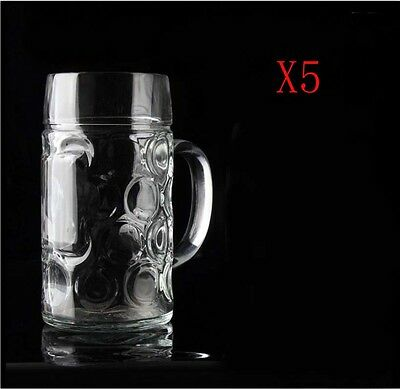 New 5X Capacity 1150ML Height 201MM Large Size Beer Wine Glass/Glassware %