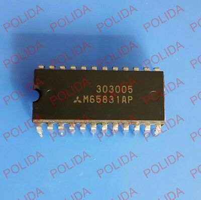 1Pcs Digital Echo/delay Ic Mitsubishi/renesas Dip-24 M65831Ap