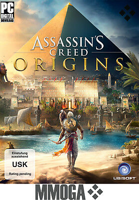 Assassin's Creed Origins Key - PC Standard Edition - Uplay Download Code [DE/EU]