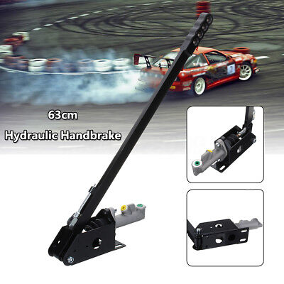 63cm Long Vertical Hydraulic Handbrake E-brake Drift Rally Race Hand Brake Hydro