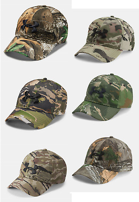 New Under Armour UA Camo 2.0 Cap Hat #1300472 Men's Hunting Headwear OSFA