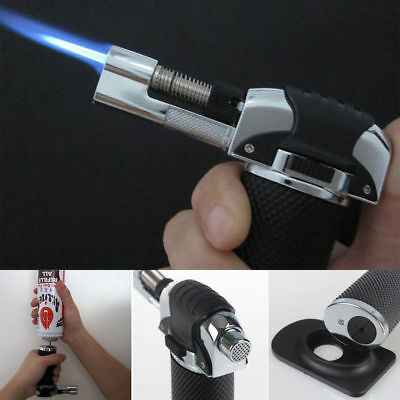 Butane Gun Micro Torch windproof Soldering Refillable Gas Lighter Welding RT