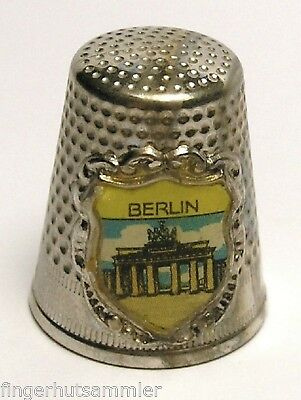 Fingerhut Thimble aus Metall - Berlin