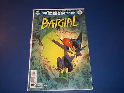 Batgirl #1 NM Rebirth Wow