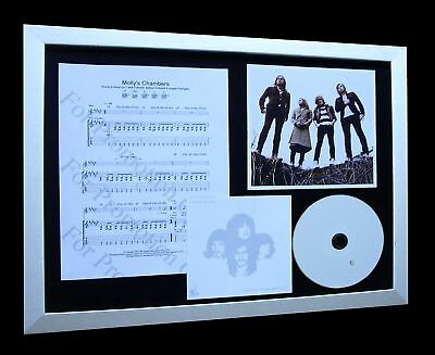 KINGS OF LEON Molly's Chambers LTD CD FRAMED DISPLAY!!