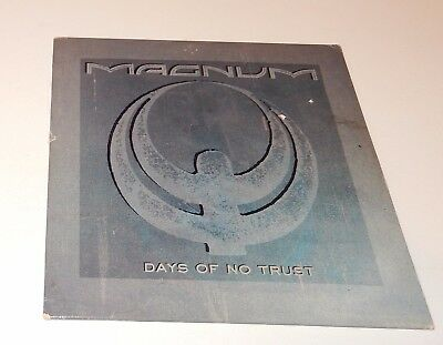 Days Of No Trust Magnum (CD, 1988, Cardboard case) 4 Track Polygram POCD 910