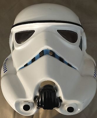 Star Wars Stormtrooper PVC Adult Costume Mask Rubies Licensed New