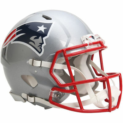 NFL Football Full Size Speed Helm NEW ENGLAND PATRIOTS Authentic Footballhelm