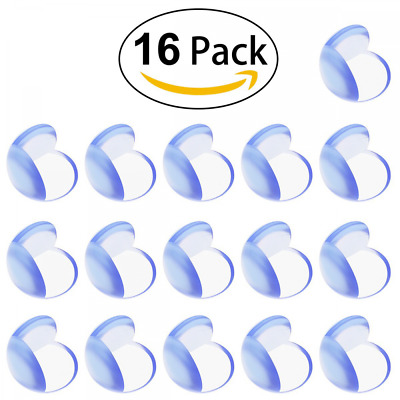 Baby Child Proof Corner Safety Bumpers Proofing Corner Guards Transparent Table