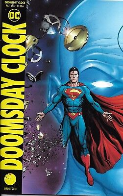DC Doomsday Clock comic issue 1 Limited Superman variant
