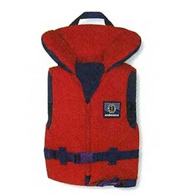Mustang Classic Childrens Life Vest Life Jacket Infant Size 20-30 LBS