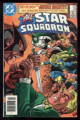 All Star Squadron (1981) #30 1st Print Mark Jewelers Thomas Mike Machlan FN/VF