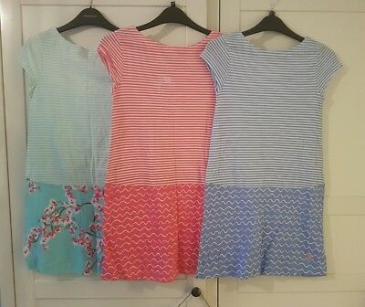 Set of beach holiday dresses Joules 9-10 years
