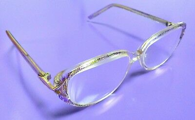 THE ONE LIH210175 Cry Purple ladies' glasses frames. ATTRACTIVE RARE ITEM!
